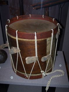 American Revolutionary War Drum