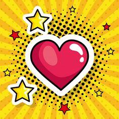 Pop Art Patterns, Cute Patterns Wallpaper, Art Pop, Cuadros Pop Art, Pop Art Pictures, Desenho Pop Art, Nail Drawing, Pop Art Women, Vector Pop