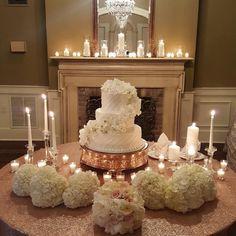 #weddingcake #receptiondecor #weddingflowers #weddingideas #weddingdecor #hydrangeas