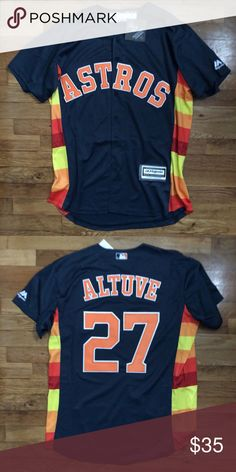 501aaa302d2 Jose Altuve Houston Astros Jersey / NWT Stitched Brand New w Tags Jose  Altuve Houston Astros Stitched Fast Delivery Money Back Guarantee Majestic  Shirts ...