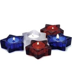 red white and blue candle - Google Search