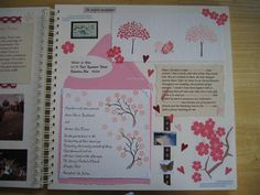Scrapbook Guestbook- each guest designs a page at the shower OR have bridesmaids all design one page each and bring it to put together at the shower --- love this idea!