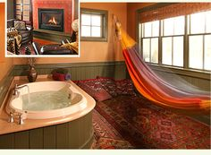 The Sojourn Loft in a New Hope PA Bed and Breakfast :: Ultimate Romance #woolvertoninn, #bedandbreakfast