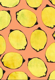 lemon print