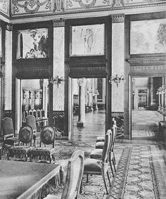 Het Stadhuis - interieur - 1929 Trouwzaal 1e klasse