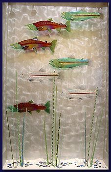 Glass Fish - Glass Art by Mark Ditzler Glass Studio