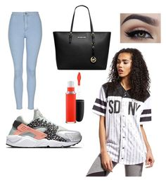 """""""TREND"""" by martha-25 on Polyvore featuring Supply & Demand, Topshop, NIKE, Michael Kors and MAC Cosmetics"""