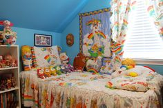 """Even the bedrooms pay tribute to the '80s cartoon. 