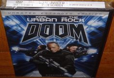 The Rock Doom Unrated Extended Edition New Sealed Protective Plastic DVD 2007