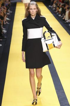 Carven Spring 2015 Runway. See the full collection on Vogue.com.