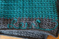 I designed this set for a friend's baby boy, Levi. It was so special to make this for him! I chose the yarn brand and Levi's mom chose the colors. We live in different states so I was in my local y...