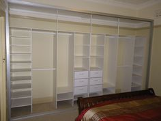 Stunning Open Cabinetry System For Clothes Organizer In Modern Walk In Closet Ideas With Built In Wardrobe Designs