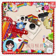 Kit - Foto Instantânea by Fa Maura [FaMaura_KitFotoInstantanea] - $4.90 : FaMaura.com - scrapshop