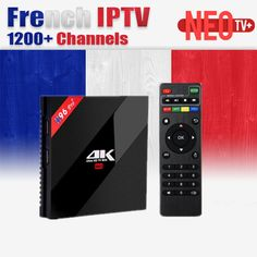 H96 Pro Arabe Français Belgique IPTV NEO + Abonnement Android 7.1 TV BOÎTE H.265 4 K HDMI 2.0 Amlogic S912 Octa core ARM Cortex-A53