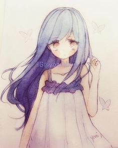 cute anime girl drawing anime in anime art, anime chibi - cute anime girl Anime Kawaii, Anime Chibi, Manga Anime, Loli Kawaii, Kawaii Chibi, Manga Girl, Anime Art, Anime Girl Drawings, Manga Drawing