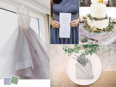 Nothing says spring wedding more than lavender does--pair it with sage for a soft, organic feel.
