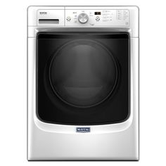 4.3 Cu. Ft. White Stackable Front Load  With Steam Cycle Washer