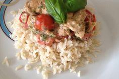 Low Carb: Kräuter-Tomatenpfanne mit saftigem Geflügelfleisch 12