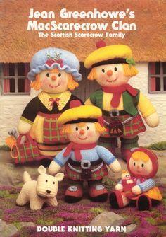 [Ebook] Jean Greenhowe's MacScarecrow clan: The Scottish scarecrow family | Free Craft Ebooks