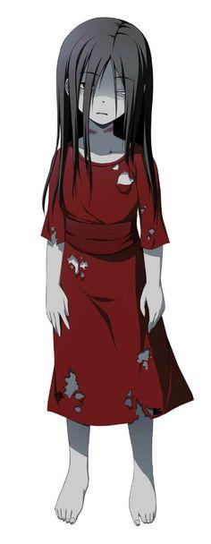 Sachiko... if she weren't a crazed murderer, she'd be really pretty :T