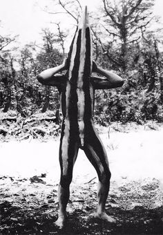 The Lost Tribes Of Tierra Del Fuego: Rare And Haunting Photos Of Selk'nam People Posing With Their Traditional Body-Painting