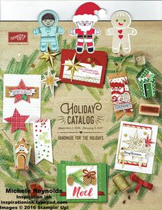 Cookie Cutter Christmas Bookmarks