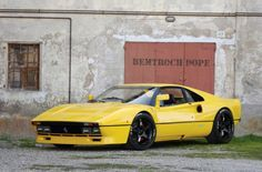 The Ferrari GTO (often referred to as Ferrari 288 GTO) is an exotic homologation of the Ferrari 308 GTB produced from 1984 through 1985, designated GT for Gran Turismo and O for Omologato (homologated in Italian).