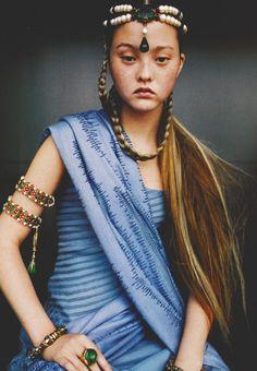 meiselmuse:   Devon Aoki / Vogue Paris September 1999 by   Ruven...