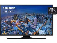 """Smart TV LED 60"""" Samsung UN60JU6500GXZD Ultra HD - 4K 4 HDMI 3 USB Wi-Fi"""