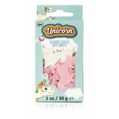 Confettis de bain Licorne