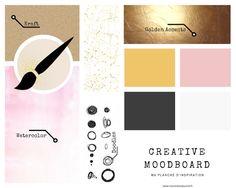 Mood Boards, Creations, Doodles, Bullet Journal, Branding, Hacks, Chart, Watercolor, Inspiration