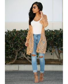 """5b7e8000cc9 ... Instagram  """"Overly in love w this lace cardi ❤🤗 such a beautiful piece  for spring💕  outfitinspo Bodysuit  shopdressygirl Cardigan (Katie cardigan )…"""""""