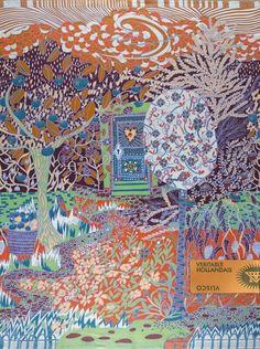 Vlisco dutch graphics for fabrics