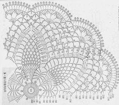 Free Crochet Doily Patterns, Crochet Doily Diagram, Crochet Chart, Filet Crochet, Crochet Motif, Crochet Doilies, Crochet Books, Crochet Home, Thread Crochet