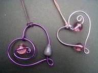 Wire craft hearts
