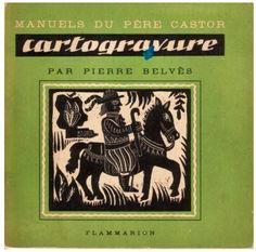183. CARTOGRAVURE Pierre Belvès 1950