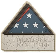 3D Morale Patch - Freedom Is Not Free. www.Maxpedition.com