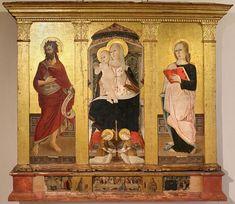 Giovanni Bellini, Fra Angelico, Italian Renaissance, 15th Century, African Art, Madonna, Mythology, History, Painting