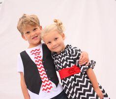 Brother sister Christmas chevron, Sibling Christmas outfits, Christmas outfits for sister brother