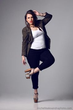 great outfit - lovely image! #plussize #plus_size #curvy #fashion #clothes