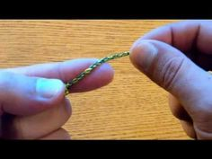 How to Make a Rope Rosary (a.k.a. Twine Rosary) - YouTube