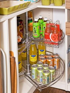 Pantry additions--Kitchen Storage Ideas | Kitchen Ideas & Design with Cabinets, Islands, Backsplashes | HGTV