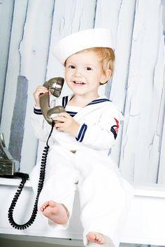 Sailor outfit toddler