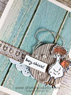 Hey Chick Sale-a-bration stamp set by stampin up www.stampstodiefor.com 4