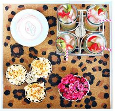 DIY - Lacquer Tray Leopard Insert - eclectic - kitchen - new york - Bek Design