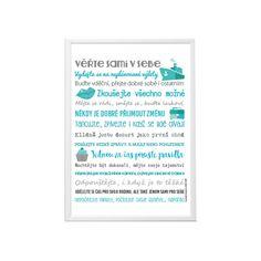 Motivační plakát - Ať se Vám daří - HEZKÝ SVĚT