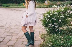 5 Ways to Wear Hunter Boots