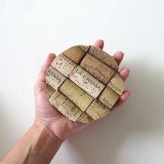 DIY Wine Cork Coasters | Heartmade Blog
