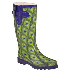 @Amber Kendall - Not sure if you're much for a rain boot but these are all about peacocks!