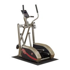 $1,049.00 Featuring a comfortable and natural stride, the Best Fitness E1 center drive elliptical trainer offers patented technology that ensures the shape of the ellipse is biomechanically correct. This means the machine moves in the same natural motion as your body does, providing a true running feel...